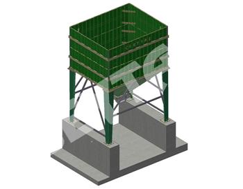 Kamyon Yükleme Stok Bunkerleri
